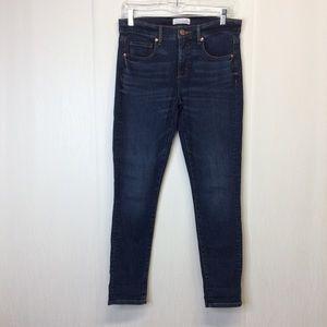 Ann Taylor Loft 4/ 27 Modern Skinny Crop Jeans